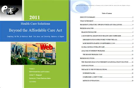The Patient Protection And Affordable Care Act Ppaca H