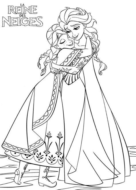 Coloriage 195 Dessiner De Princesse Anna