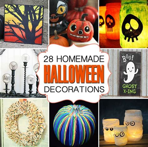 how to make easy halloween decorations at home 28 homemade halloween decorations for adults