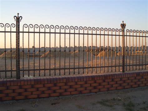 Wrought Iron Garden Fence by Garden Fence Wrought Iron Garden Fence