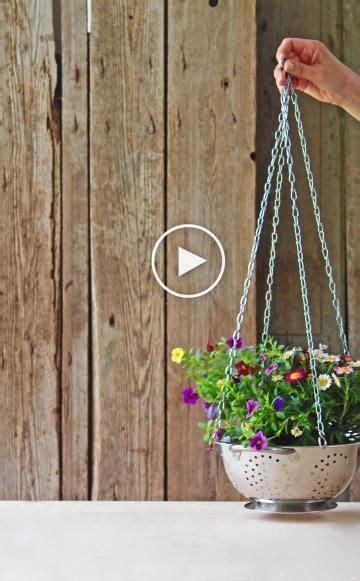 Blumenampel Selber Machen Hangekorb Blumenampel Selber Machen Videos