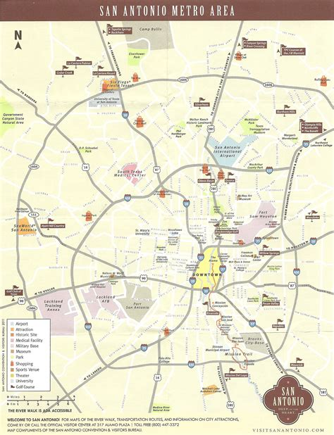 san antonio on map of texas metro san antonio