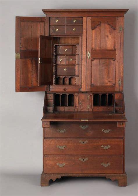 secretary desk with drawers price 49 140 pennsylvania queen anne walnut secretary ca