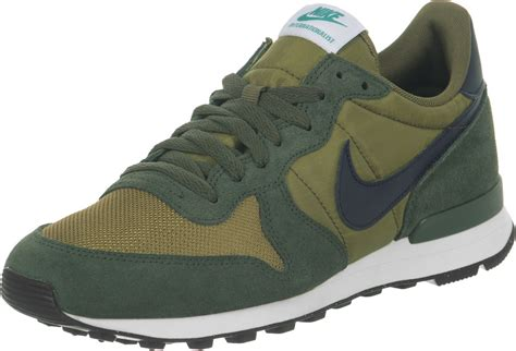 green sneakers nike nike internationalist shoes olive green