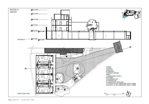 planned section galeria de raas jodhpur the lotus praxis initiative 24
