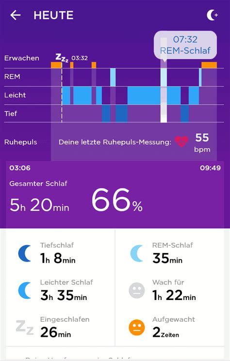 schlaf aufzeichnen app jawbone up3 test activity tracker mit pulssensor