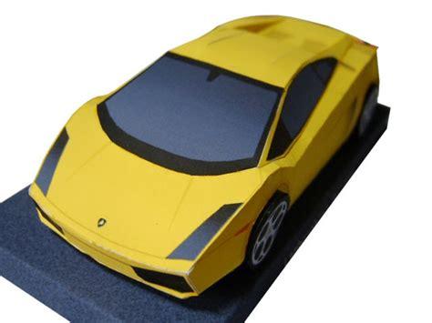 Papercraft Lamborghini - papercraft lamborghini gallardo papercraft