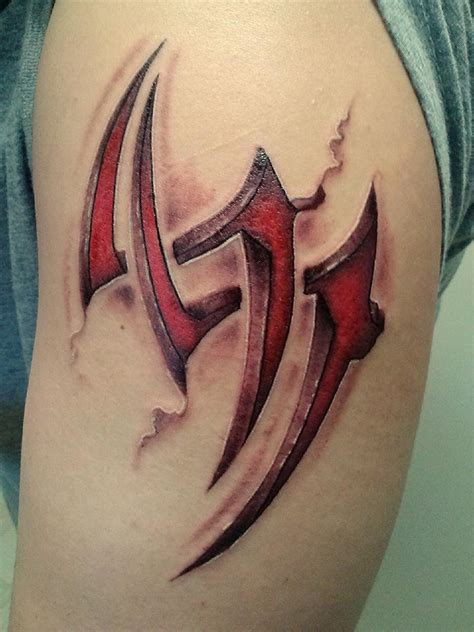 my jin kazama tattoo by concept31788 on deviantart