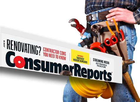 Consumer Reports Sweepstakes 2016 - consumer reports contractors survey reveals shady practices and costly homeowner