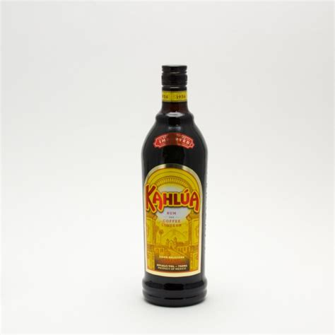 Kahlua Coffee Liqueur kahlua rum and coffee liqueur 750ml wine and liquor delivered to your door or