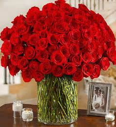 1800 Flowers Store - 100 premium long stem red roses 1800flowers com 95672