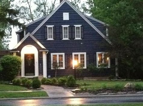 blue house white trim front door navy blue house exterior white trim black door and