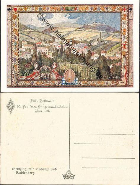 Postkarten Drucken Wien by Historische Ansichtskarten 214 Sterreich Diverse 02