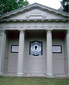diana burial princess diana top 10 celebrity grave sites time