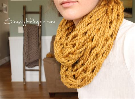 How To Arm Knit Tutorial Including
