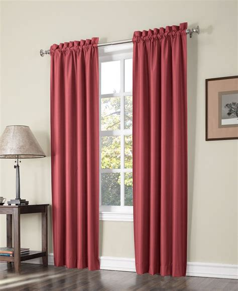 lined rod pocket curtains plainfield thermal lined rod pocket curtain panel pair
