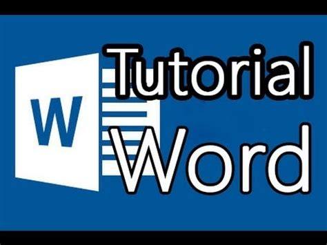 tutorial word 2013 tutorial word 2013 como hacer buenos documentos youtube