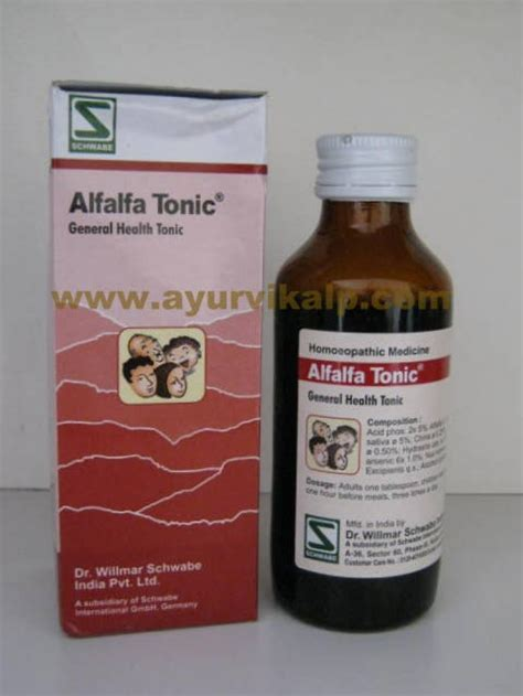 General Tonic alfalfa general tonic schwabe 100 ml general health tonic