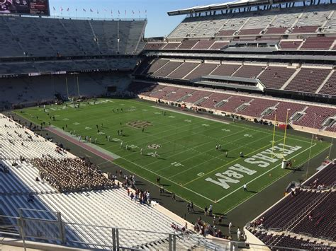 Kyle Field Visitor Section by Kyle Field Section 328 Rateyourseats