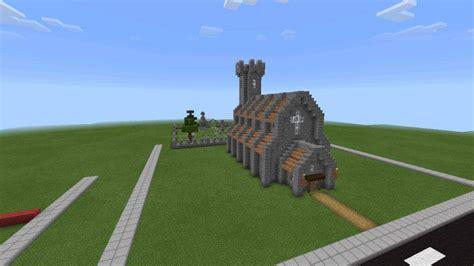New Medieval Church   Minecraft Amino