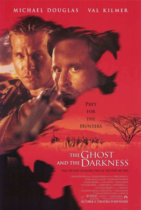 film ghost in the darkness the ghost and the darkness movie posters from movie poster