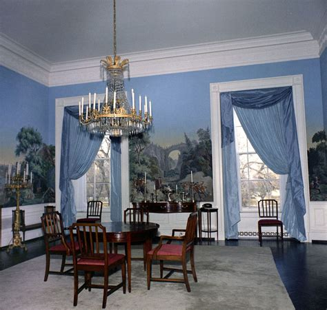 white house dining room kn c20017 president s dining room white house john f kennedy presidential