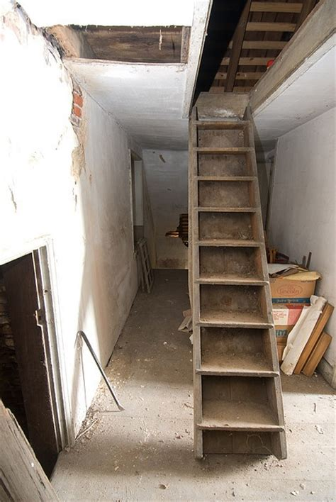 pull down stairs by jeklee attic pinterest