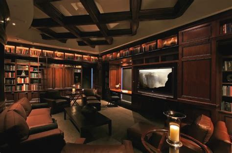media room plans 40 home library design ideas for a remarkable interior