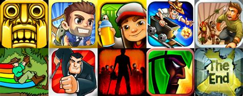 10 non stop running game apps for ios and android