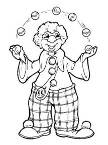 clown coloring pages free printable clown coloring pages for