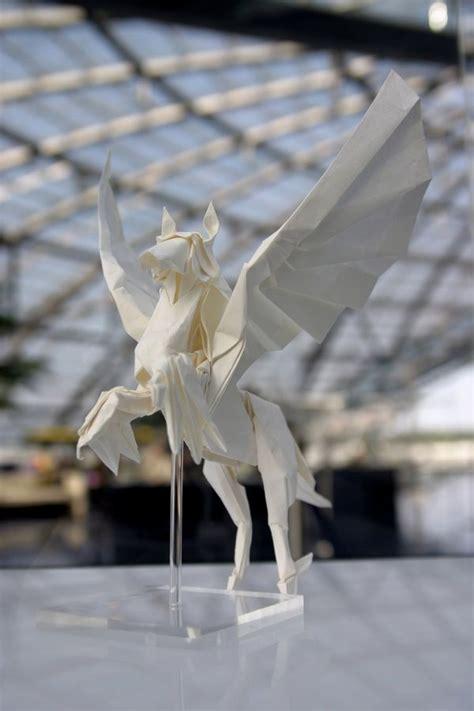 tutorial origami pegasus 17 best ideas about origami horse on pinterest origami