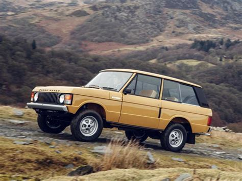 land rover two door 1978 range rover two door revealed as range rover