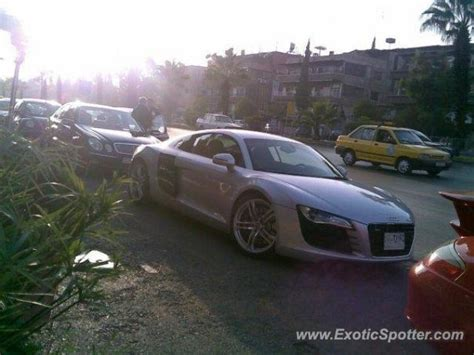 Audi Siria audi r8 spotted in damascus syria on 05 21 2009
