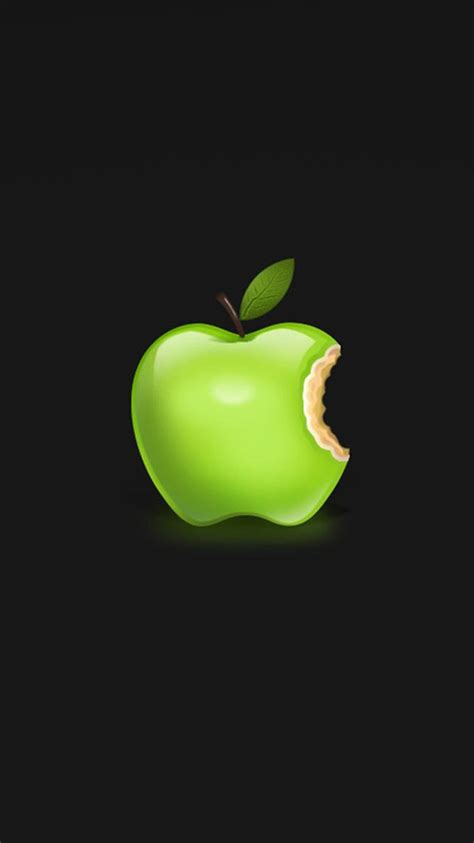 wallpaper for iphone 6 with apple logo green apple logo 01 iphone 6 wallpapers hd iphone 6