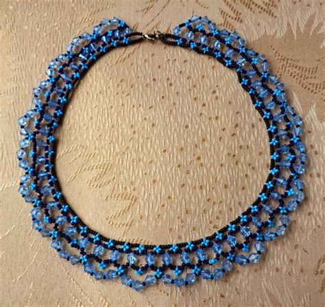 beading blogs free pattern for necklace scilla magic bloglovin