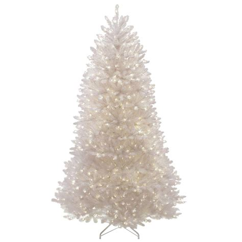 dunhill artificial trees national tree company 7 5 ft dunhill white fir artificial