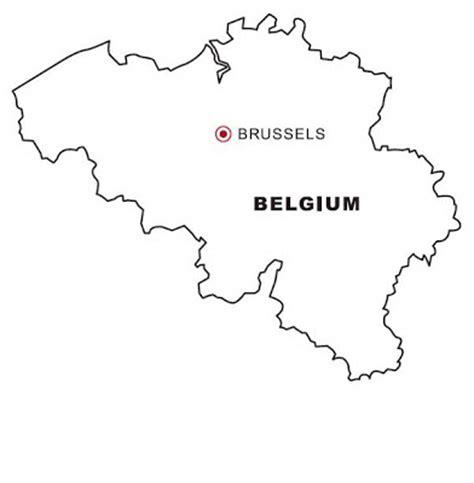 Belgium Map Coloring Page   belgium map coloring color area