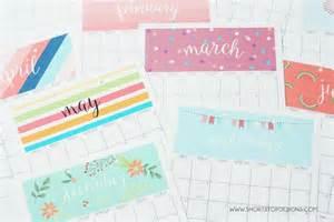 Calendario Por Meses Para Imprimir 2017 10 Calendarios 2017 Para Imprimir Gratis