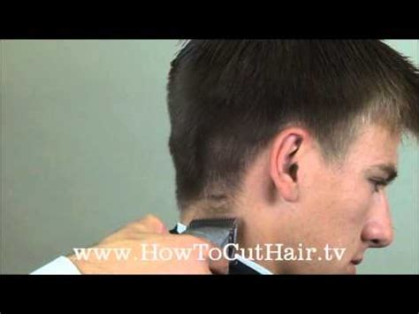 taper haircut how to blend s hair with clippers