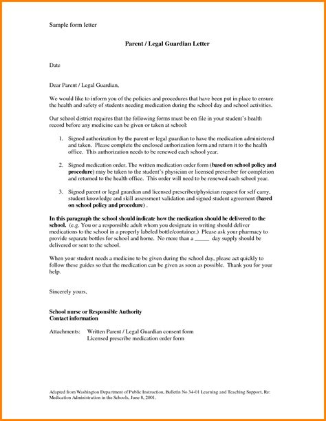 naming a guardian for your child template 7 guardian letter sle ledger paper