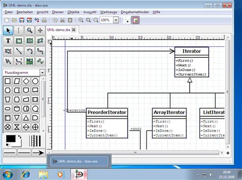 dia shapes visio screenshots of dia in