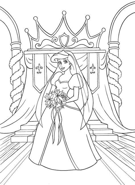 disney coloring pages princess ariel walt disney coloring pages princess ariel kleurplaat