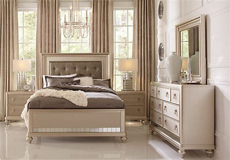 sofia vergara bedroom sets sofia vergara paris chagne 5 pc queen bedroom bedroom