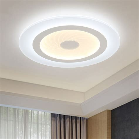 Decorative Ceiling Lights 2016 Modern Led Ceiling Lights Acrylic Ultrathin Living Room Ceiling Lights Bedroom Decorative