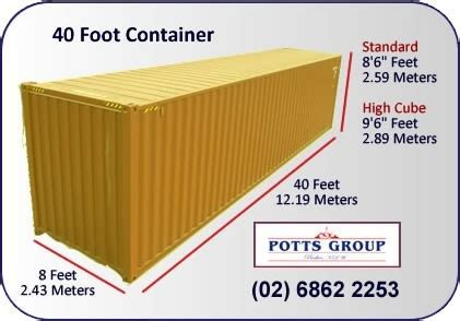 removals and storage potts group shipping container services potts group