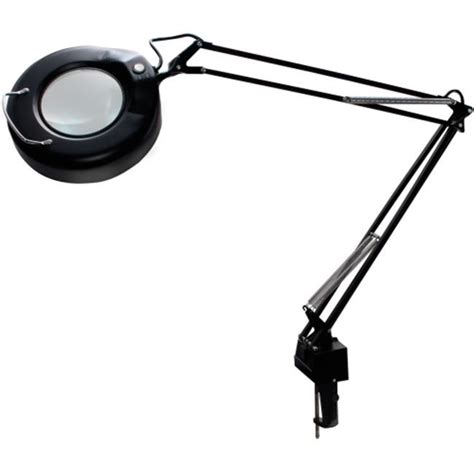 swing arm magnifying l luxo corp l745bk cl on fluorescent swing arm magnifier