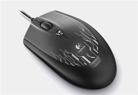 Mouse Gaming Logitech G100 Logitech G100 Gaming Mouse Black