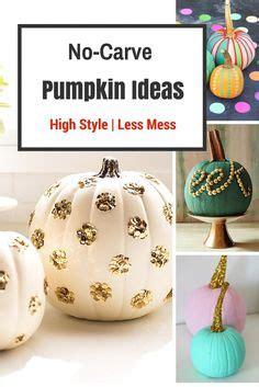 decorar con hojas secas de otoño the 11 best pretty painted pumpkins want need love