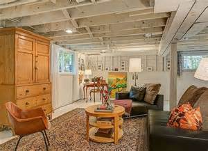 homes without basements 25 best ideas about unfinished basements on