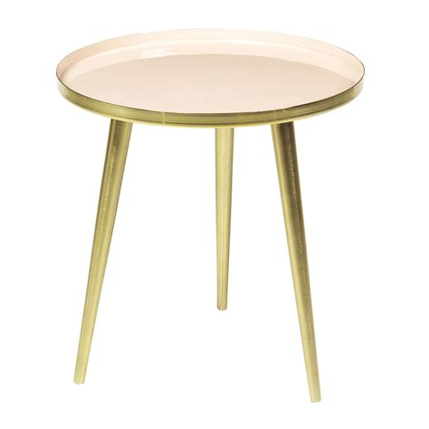 brass side table buy broste copenhagen jelva side table brass linen amara